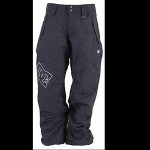 DC Exotex black 8000 Snowboard ski pants EUC XL